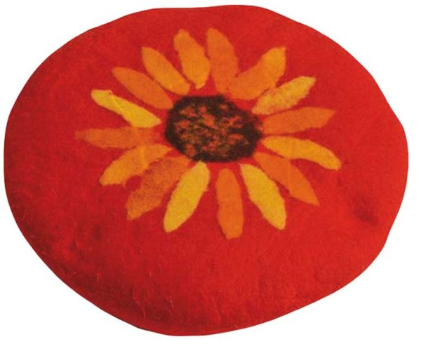 Sitzkissen Sonnenblume