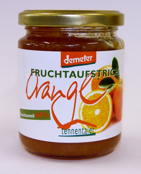 Orange Fruchtaufstrich