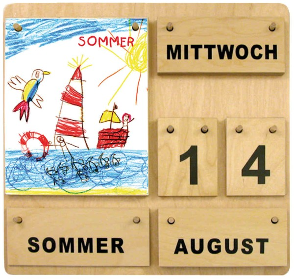 Kinderkünstler- Ewiger Kalender