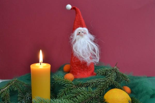 Ein Nikolaus aus Filz