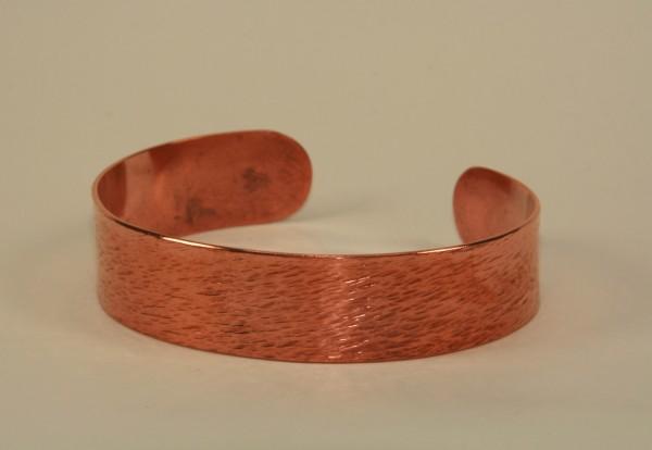 Armreif aus Kupfer Breit