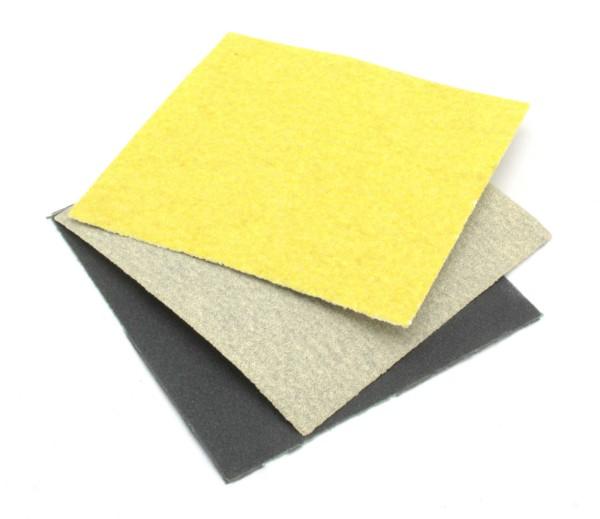 Schleifpapier-Set 7x7cm 60/120/360