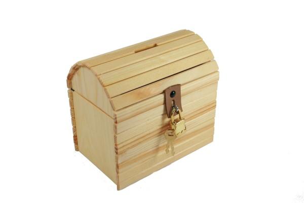 Schatztruhe aus Holz