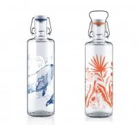 Trinkflasche aus Glas 1,0 l