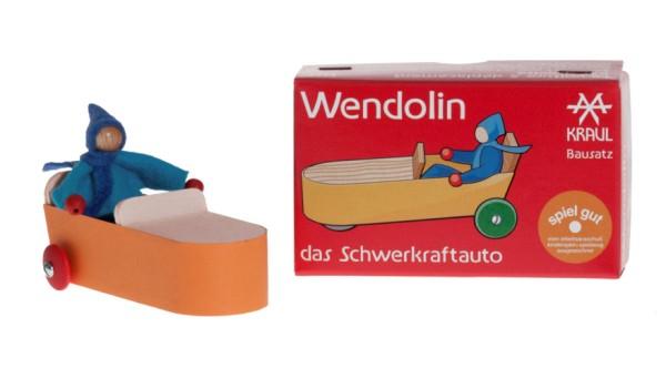 Wendolin mit Fahrer, Bausatz
