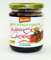 Johannisbeer-Cassis Fruchtaufstrich