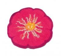 Filzstuhlkissen Flora