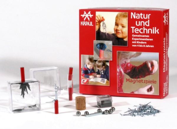 Magnetspiele - Natur und Technik