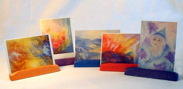 Farbkreis-Kartenständer