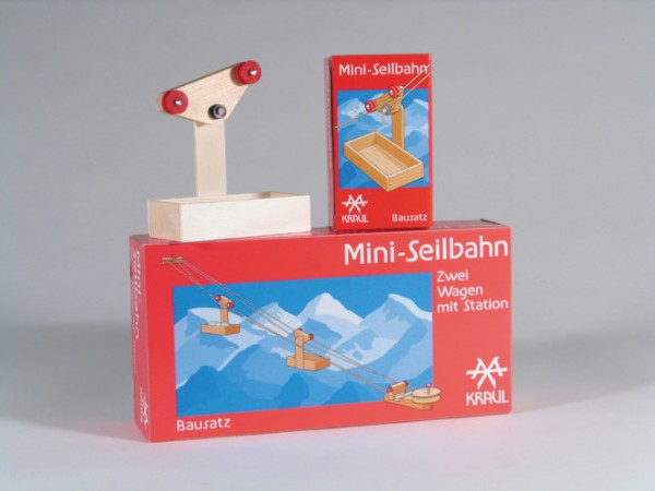 Mini-Seilbahn 2 Wagen