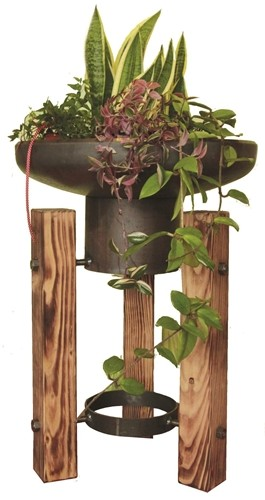 Pflanzen-und Feuerschale