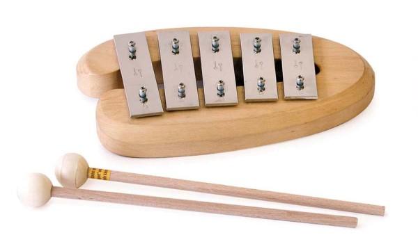 Glockenspiel, Pentatonisch