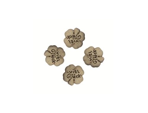 Magnet Pins Kleeblatt ´´Viel Glück´´