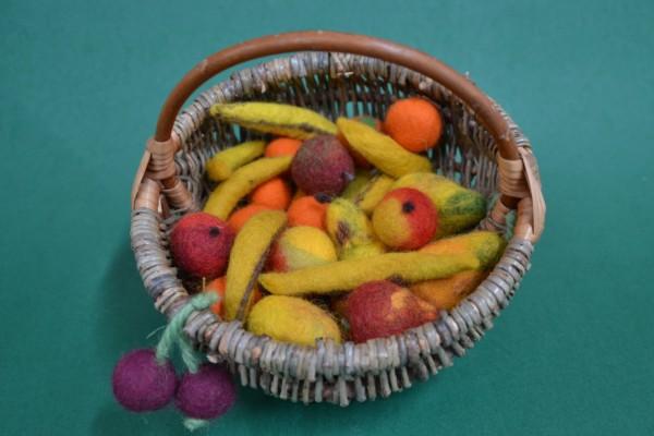 Obst Filz-kaufladen Allerlei